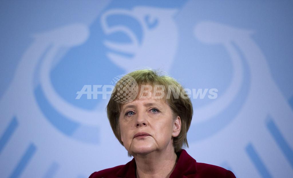 メルケル独首相、国内原発の稼働延長を凍結 福島原発事故を受け