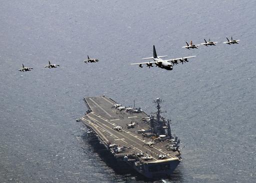原潜からF22まで、米韓合同軍事演習終わる