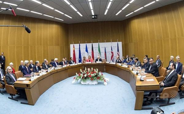 イランと欧米など6か国、核協議で歴史的な最終合意