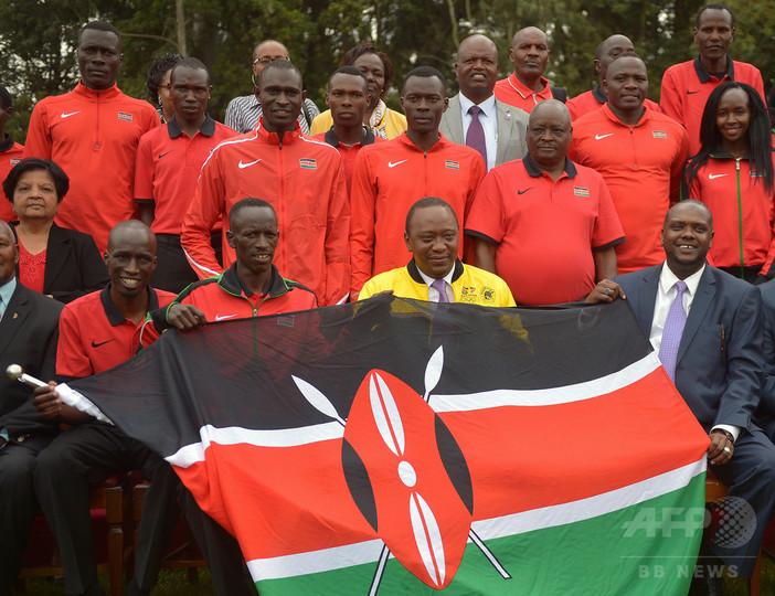 オリンピックのケニア選手団 - Kenya at the Olympics - JapaneseClass.jp