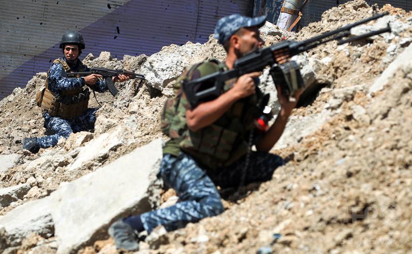モスル奪還作戦、イラク政府側の戦死者は1200人以上 有志連合発表