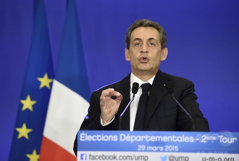 仏県議選、右派政党が大勝 社会党政権に打撃
