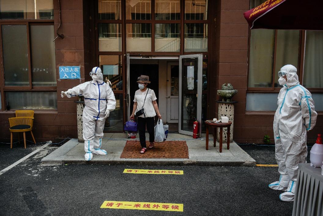 新型コロナ、中国本土で新たに2人感染確認