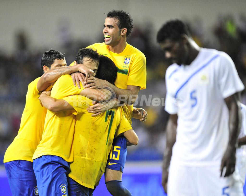 ブラジルがガボンに快勝、国際親善試合