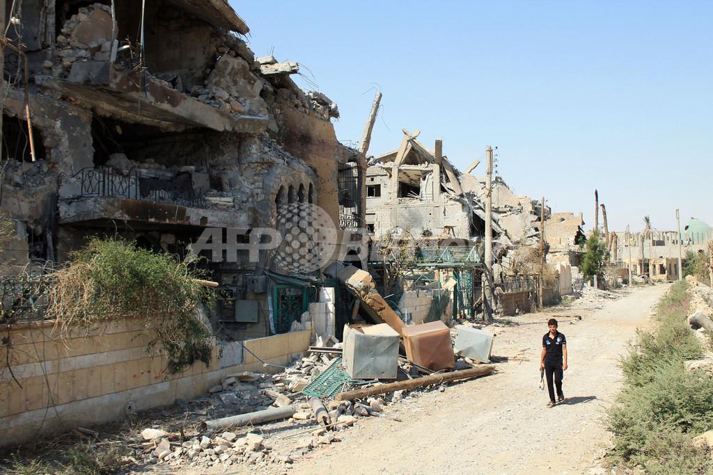 国連調査団がシリア入り、化学兵器使用を調査