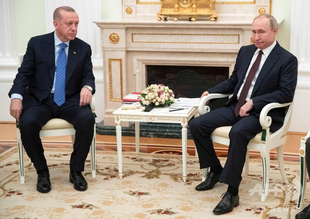 トルコとロシア、シリア北西部での停戦で合意 6日から