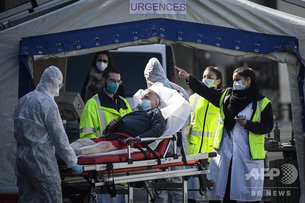 仏、新型コロナでさらに471人死亡 老人ホームの死者数初公表