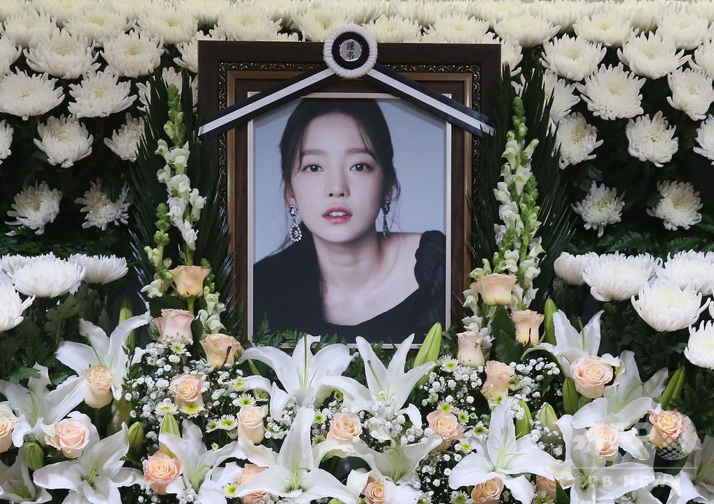 ク・ハラさんの元交際相手に懲役1年、性的動画で脅迫 韓国