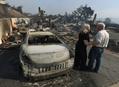 米カリフォルニア州の山火事、2万7000人以上避難 1人死亡