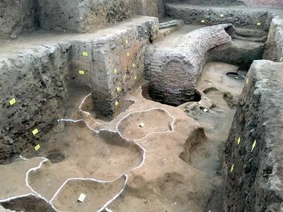 2000年以上前の王莽新王朝の「造幣局」見つかる 河南省南陽市