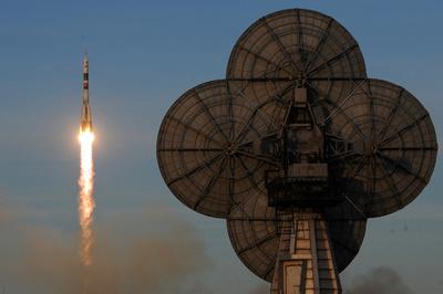 ロシア宇宙船「ソユーズ」、事故後初の打ち上げに成功