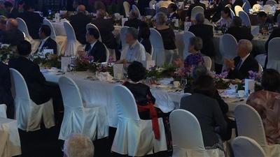 動画:ASEAN祝賀会に各国首脳参加、プーチン大統領の姿なく