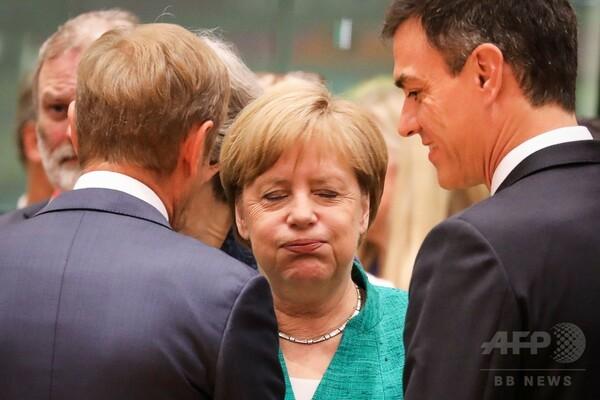 EU首脳会議、移民問題で合意 「もはや孤独ではない」と伊首相