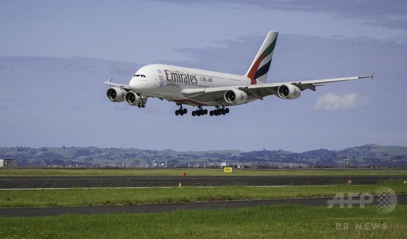 エミレーツが世界最長の直行便、運航開始 距離1.4万キロ