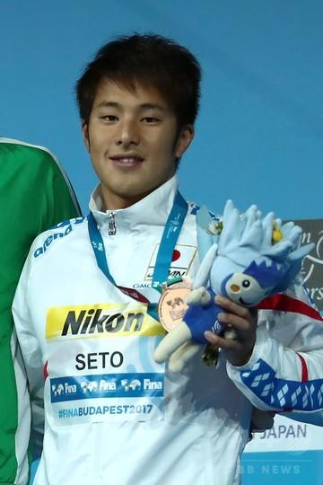 瀬戸大也、男子200mバタフライで銅メダル 世界水泳