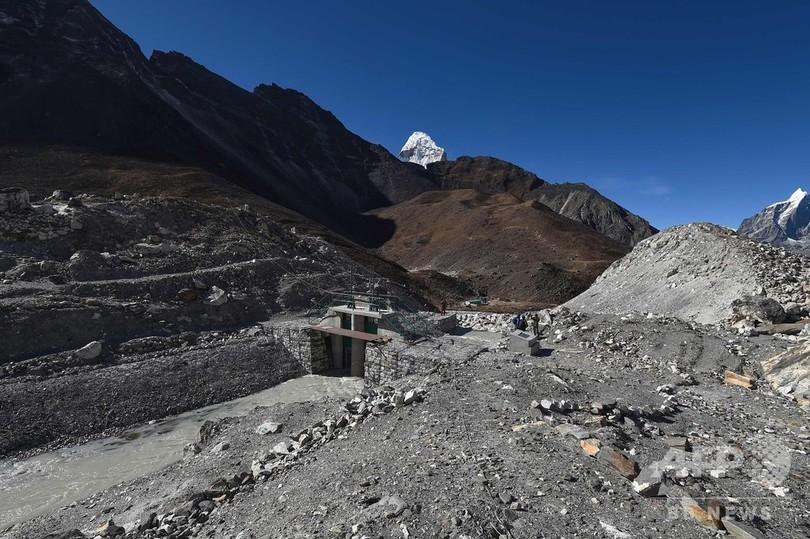 ヒマラヤの氷河湖、温暖化による決壊問題への取り組み ネパール