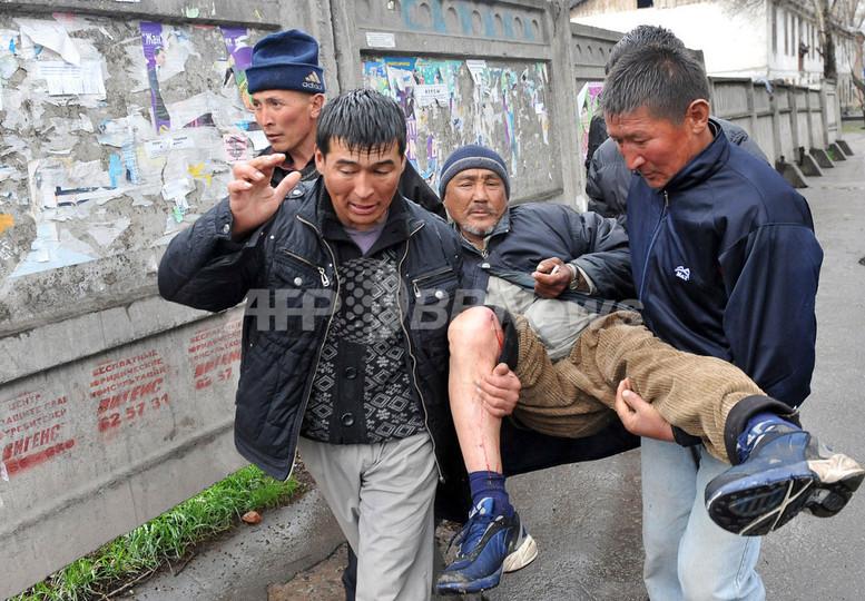 キルギス野党勢力、暫定政府樹立...