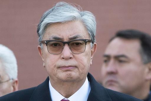 カザフスタンの前倒し大統領選、与党候補にトカエフ大統領代行