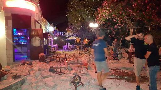 エーゲ海地震、死者2人は観光客 120人負傷