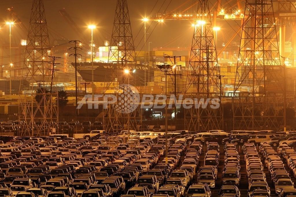 トヨタ、貨物船を借りて在庫車を保管 スウェーデン
