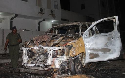 ソマリア首都の高級ホテルで自動車爆弾が爆発、4人死亡