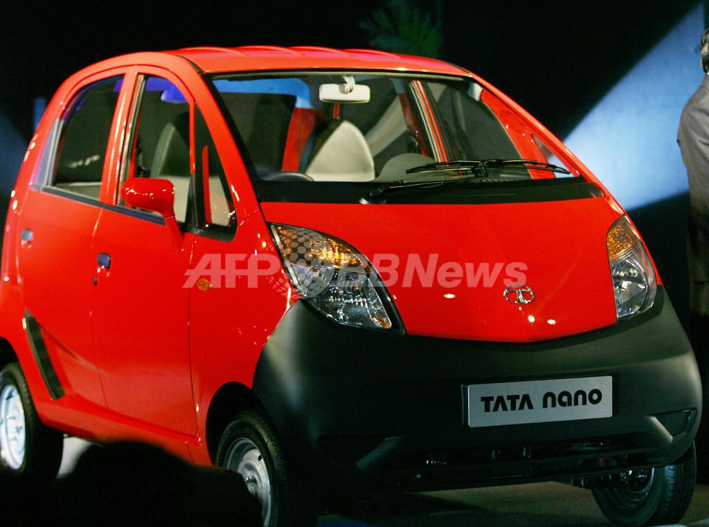 印タタ・モーターズ、世界最低価格のファミリーカー発表