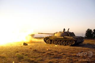 米軍、リビアでISを空爆 40人以上死亡