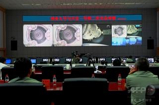中国の宇宙施設、太平洋上空で大気圏再突入 「大部分」燃え尽きる