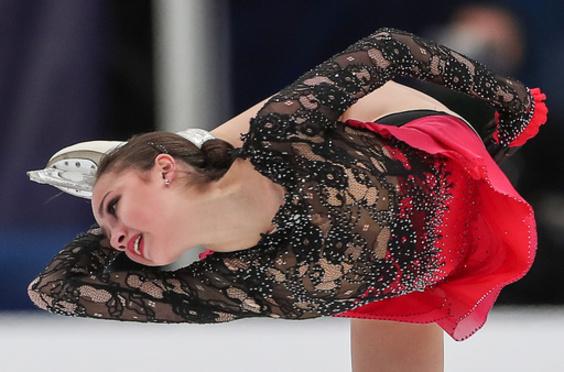 女王ザギトワ、圧巻の強さで優勝も「まだ宿題多い」 ロシア杯