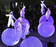 幻想的なパフォーマンス、六本木ヒルズ5周年記念
