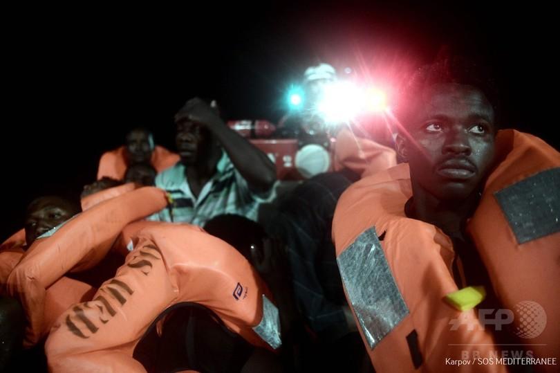 イタリアとマルタが入港拒否した移民救助船、スペインが受け入れ表明