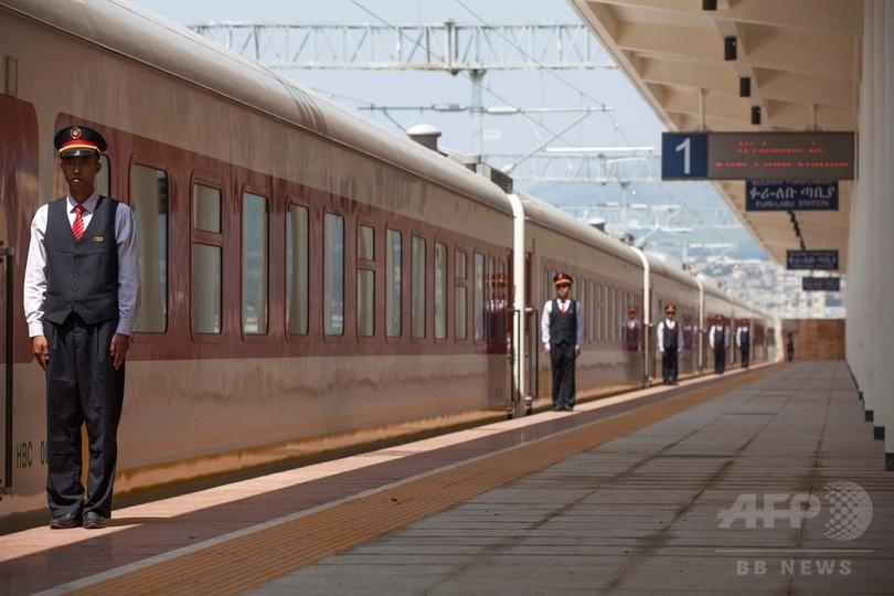 エチオピアにアフリカ初の電気鉄道が開通、中国が出資・建設