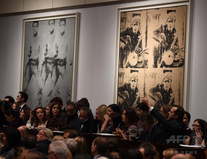 14年の美術品落札総額、過去最高の1.8兆円