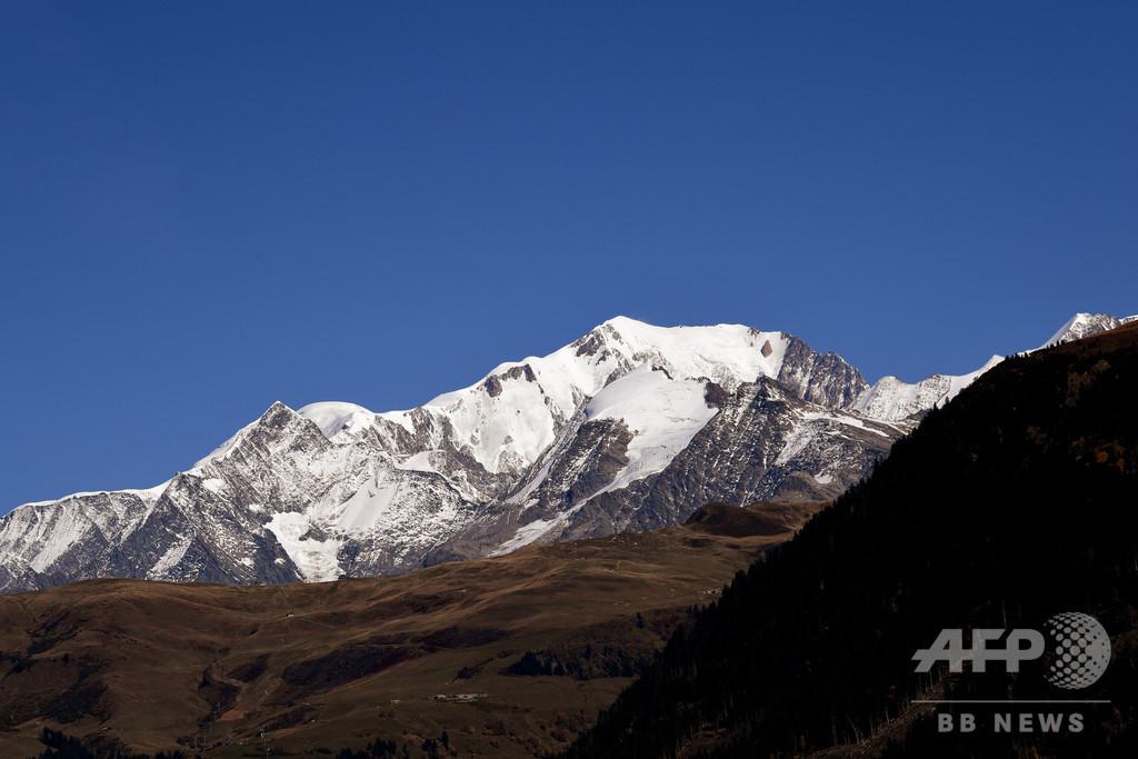 モンブラン登山者を1日214人に制限へ、地元当局 来年から