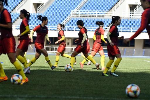 女子サッカー中国代表、W杯で強豪打倒に向け「愛国教育」