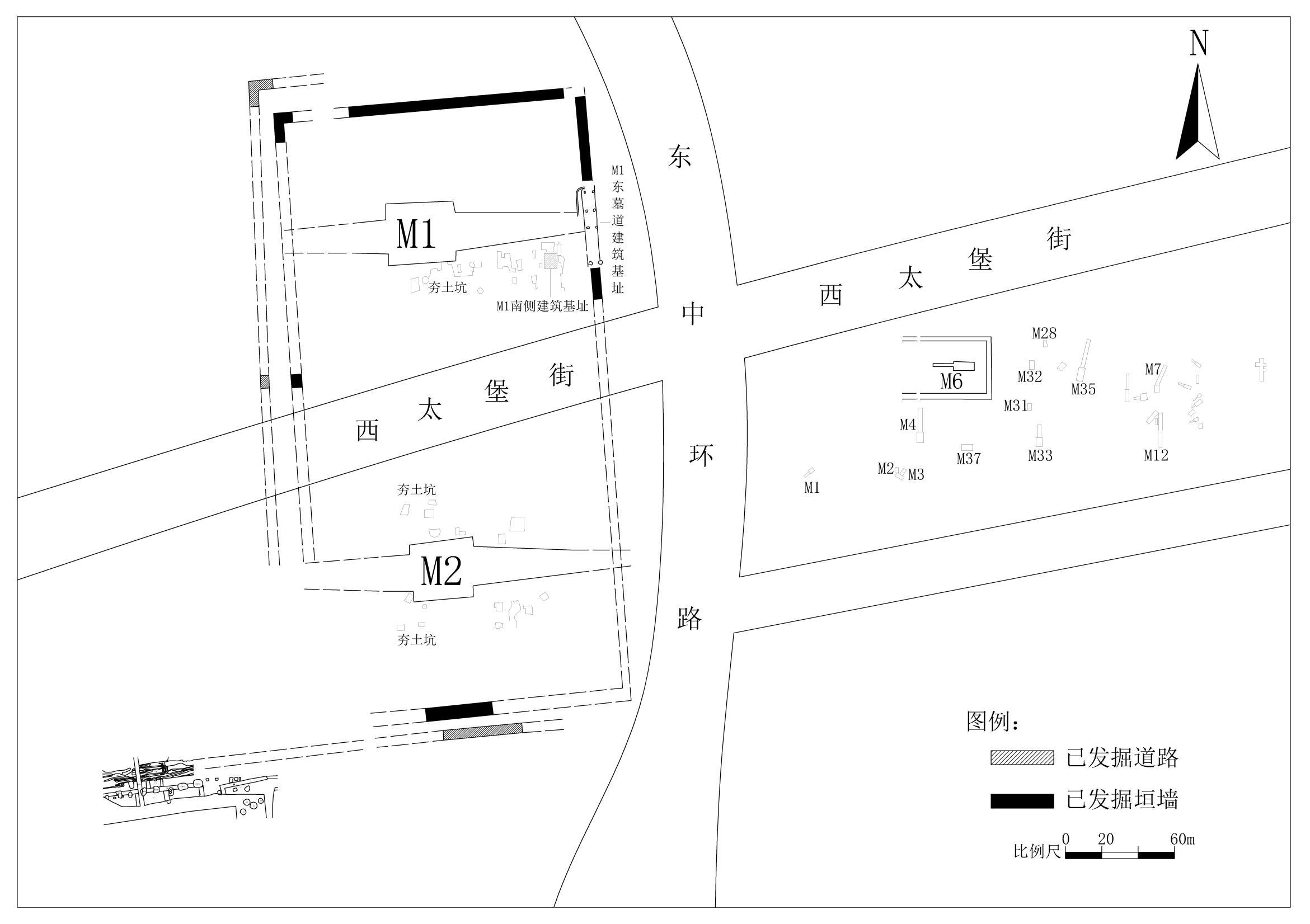 太原市で出土の漢代大型墓園、前漢の諸侯王墓か 山西省
