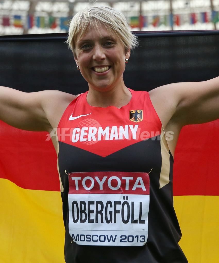 オーバークフォルが女子やり投げで金、第14回世界陸上 写真5枚 国際 ...