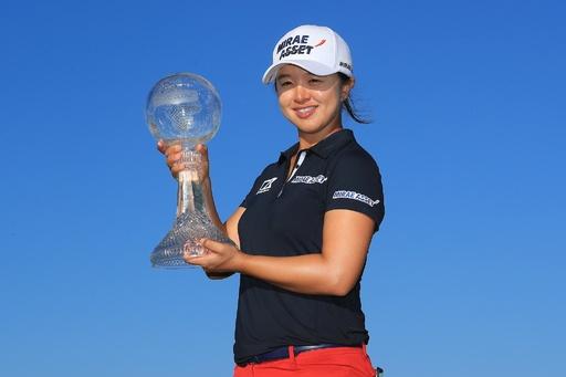 キム・セイヨンが最終戦V、優勝賞金は女子ゴルフ史上最高額
