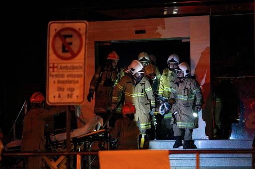 ブラジル・リオの病院で火災、少なくとも10人死亡