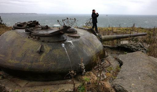 メドベージェフ露大統領、国後島を訪問
