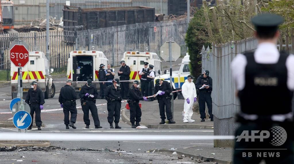 北アイルランドで暴動、記者撃たれ死亡 「テロ」で捜査
