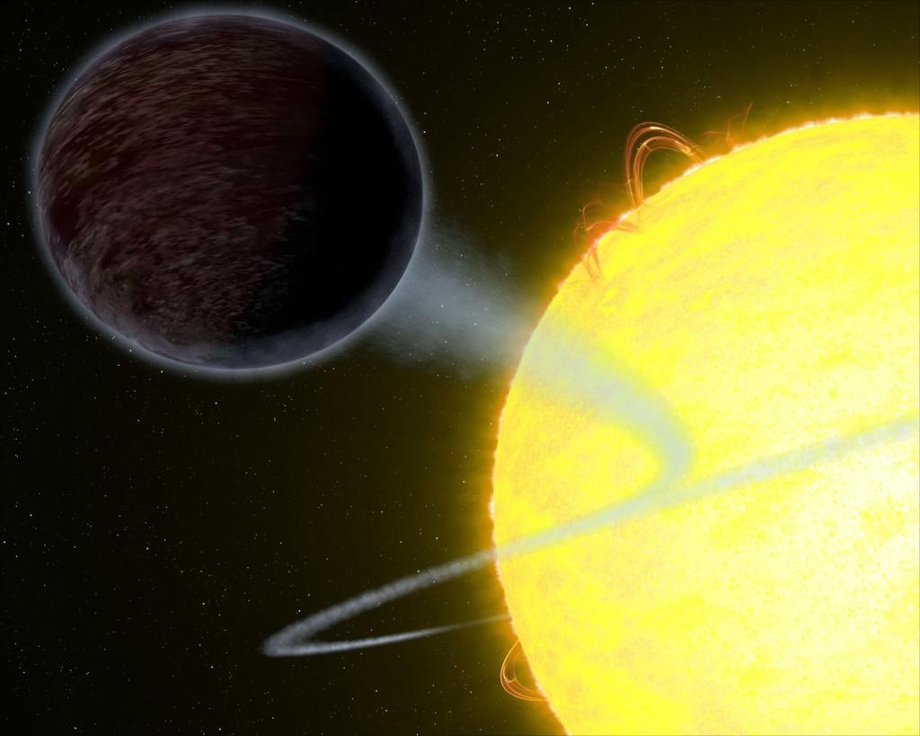 真っ黒な太陽系外惑星「WASP-12b」、光ほぼ反射せず ESA