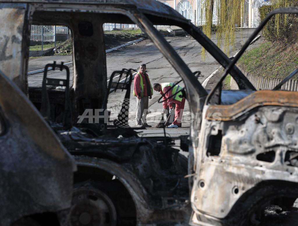 コソボ裁判所占拠事件、負傷のウクライナ人警官死亡