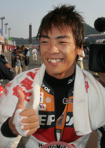 青山周平 日本GP・250ccクラスでポールポジションを獲得