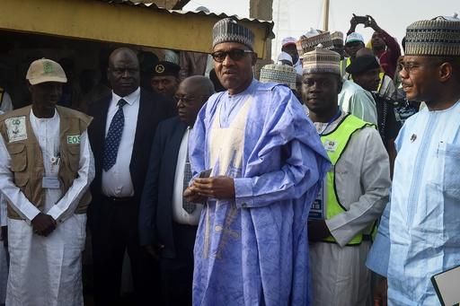 ナイジェリア大統領選、現職ブハリ氏が再選