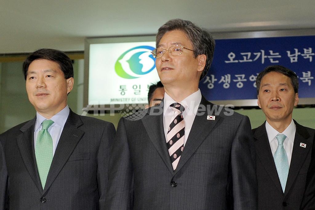 韓国と北朝鮮の接触協議、わずか22分で物別れ 写真3枚 国際ニュース ...