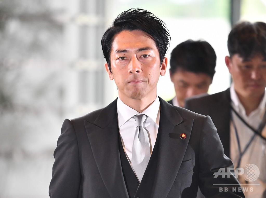 安倍再改造内閣が発足、注目の小泉進次郎氏も初入閣