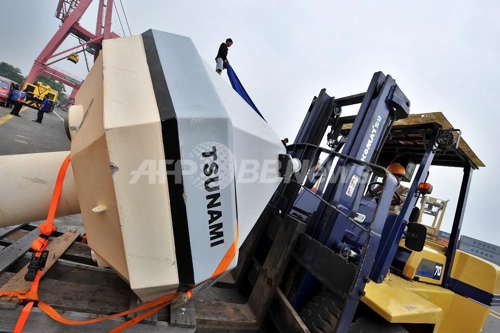 盗難、漁船が係留…インドネシアの津波警報システム 機器壊れ機能せず