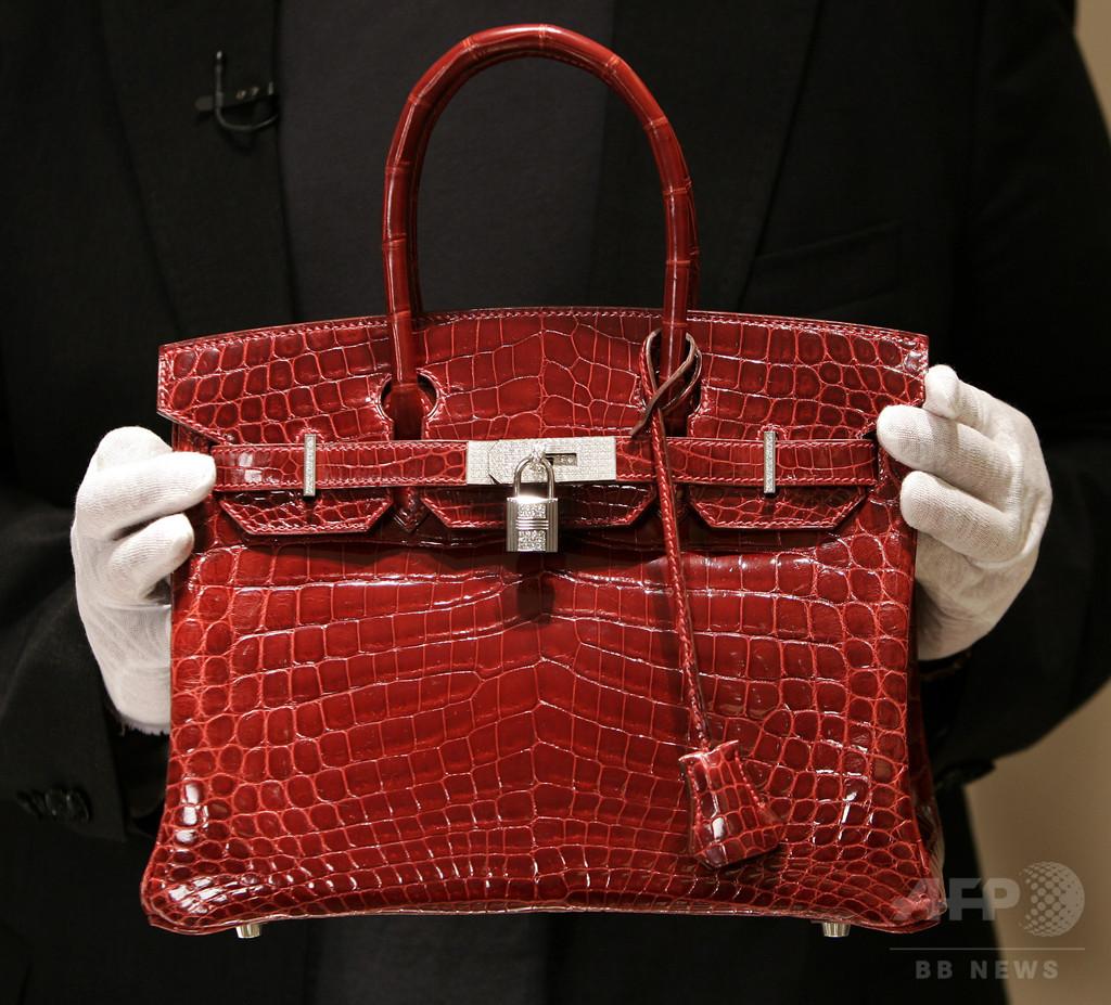 buy online b4671 11e78 英歌手J・バーキンさん、エルメスのわに革バッグから「自分の ...