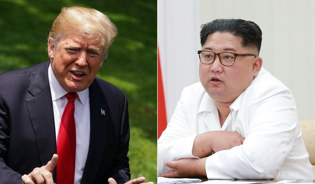 米朝首脳会談中止は「極めて遺憾」、北朝鮮